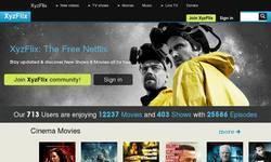 Screenshot of XyzFlix: The Free Netflix