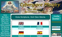 Screenshot of Cyberspace Ministry - Bible Prophecy