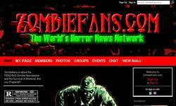Screenshot of Zombiefans