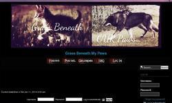 Screenshot of Grass Beneath My Paws