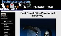 Screenshot of Best Ghost Sites Paranormal Directory