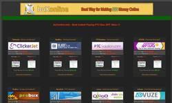 Screenshot of buXonline.info - Paying PTC Bux GPT Sites !!!