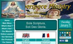 Screenshot of World Conspiracy and Bible Prophecy
