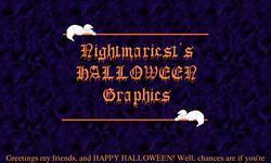 Screenshot of Nightmariest's Halloween Graphics