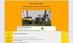 Screenshot of Bob's Motor Bikes