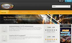 Screenshot of mu online private server