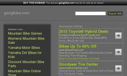 Screenshot of bike