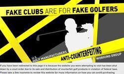 Screenshot of Cheap golf clubs