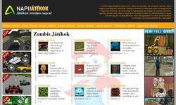 Screenshot of Zombis J�t�kok