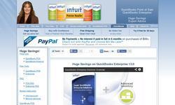 Screenshot of Quickbooks Enterprise Solution