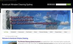 Screenshot of Window washing Sydney