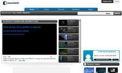 Screenshot of GameVidsHQ - Uniting the world through gaming videos