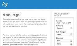 Screenshot of golfsohot