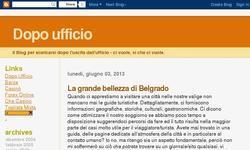 Screenshot of Blog dopo ufficio