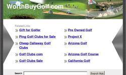 Screenshot of best golf clubs, golf clubs sale