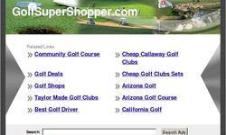 Screenshot of Golf clubs for sale, Golf Clubs Online Shop