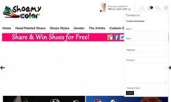 Screenshot of Hand Painted Shoes, Custom Canvas Sneakers Shoes For Girls, Boys, Teenagers