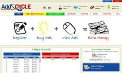 Screenshot of ClixSense - Best Paid To Click On Top Site List Planet list