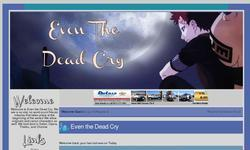Screenshot of Even the dead cry