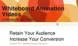 Screenshot of Whiteboard Animation Videos Production
