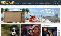 Screenshot of Cracked.com