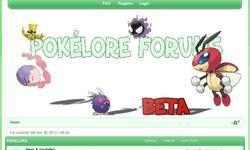 Screenshot of Pokelore