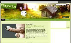 Screenshot of villageofjoy.com