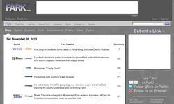 Screenshot of Fark.com