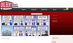 Screenshot of Dilbert Daily Strip