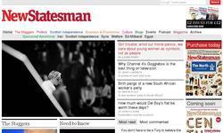 Screenshot of Newstatesman