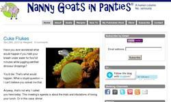Screenshot of Nanny Goat in Panties
