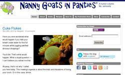 Screenshot of Nanny Goat in Panties