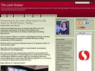 Screenshot of Junk Drawer