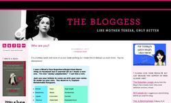 Screenshot of The Bloggess