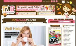 Screenshot of Top Mommy Blogs