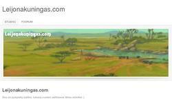 Screenshot of Leijonakuningas.com