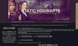 Screenshot of Static Hogwarts