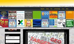 Screenshot of Lajkovi.org-Social Exchange/Advertising System