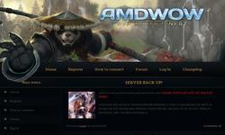 Screenshot of AMDWOW REVISED 335a WOTLK 5000