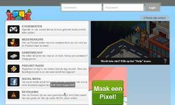 Screenshot of Pixelnet :: 24/7 :: R63 :: Leuke Retro :: Veel Events! :: Kom nu!