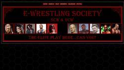 Screenshot of E-Wrestling Society