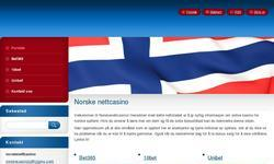 Screenshot of Norskenettcasino.webnode.no