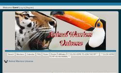 Screenshot of Animal Warriors Universe