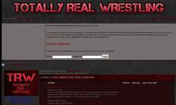 Screenshot of Totally Real Wrestling