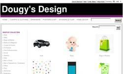 Screenshot of Dougy's Design