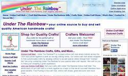 Screenshot of Under The Rainbow, Online Craft Mall