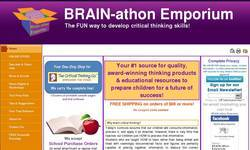 Screenshot of BRAIN-athon Emporium