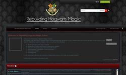 Screenshot of Rebuilding Hogwarts Online