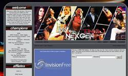 Screenshot of WWE/TNA NexGen