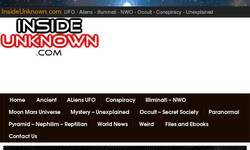 Screenshot of InsideUnknown.com